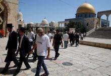 مستوطنون يقتحمون باحات المسجد الأقصى أرشيف