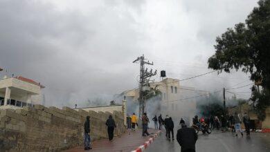 إصابات برصاص جيش الاحتلال الإسرائيلي شرق قلقيلية