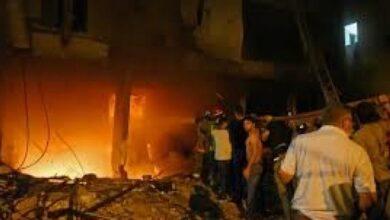 إصابات في مستوع وقود قر الحدود اللبنانية مع سوريا