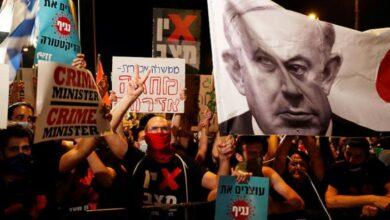 احتجاجات ضد نتناهو في القدس وتل أبيب