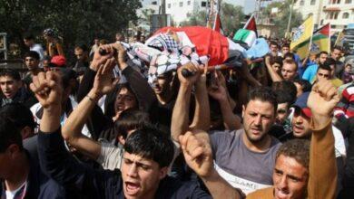استشهاد طفل فلسطيني برصاص الاحتلال جنوب نابلس