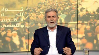 الأمين العام لحركة الجهاد الإسلامي زياد النخالة