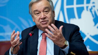 الأمين العام للأمم المتحدة، أنطونيو غوتيريش،