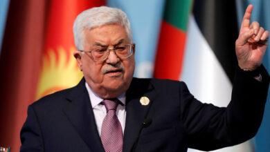 الرئيس االفلسطيني محمود عباس
