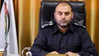 المتحدث بإسم الشرطة بغزة العقيد أيمن البطنيجي