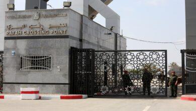 معبر رفج البري جنوب قطاع غزة