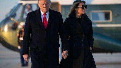 مغادرة الرئيس الأمريكي ترامب البيت الأبيض