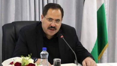 عضو اللجنة المركزية لحركة فتح صبري صيدم