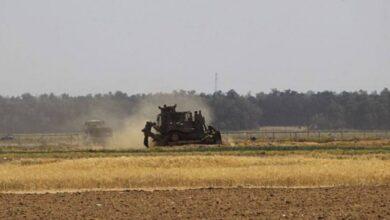 أليات جيش الاحتلال شرق غزة