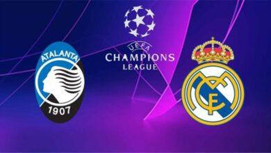ريال مدريد وأتالانتا في دوري أبطال أوروبا