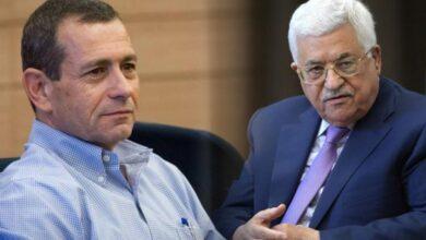 الرئيس عباس ورئيس الشاباك الإسرائيلي