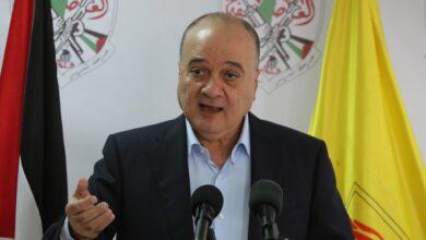 عضو اللجنة المركزية ناصر القدوة