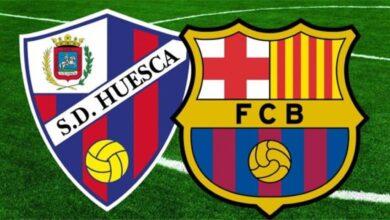 موعد مباراة برشلونة وهويسكا في الدوري الإسباني