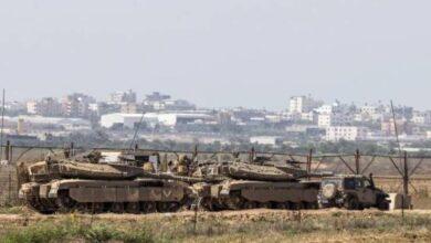 الجيش الإسرائيلي والحشود على حدود قطاع غزة (أرشيف)