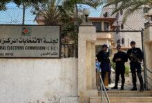 مقر لجنة الانتخابات الفلسطينية في قطاع غزة