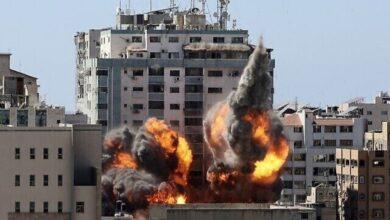 برج الجلاء وسط مدينة غزة