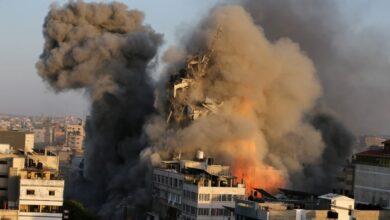 التصعيد في قطاع غزة