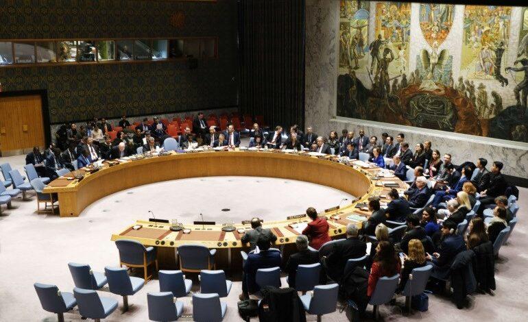 مجلس الأمن والتصعيد على غزة والقدس